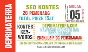 kontes seo desember 2012