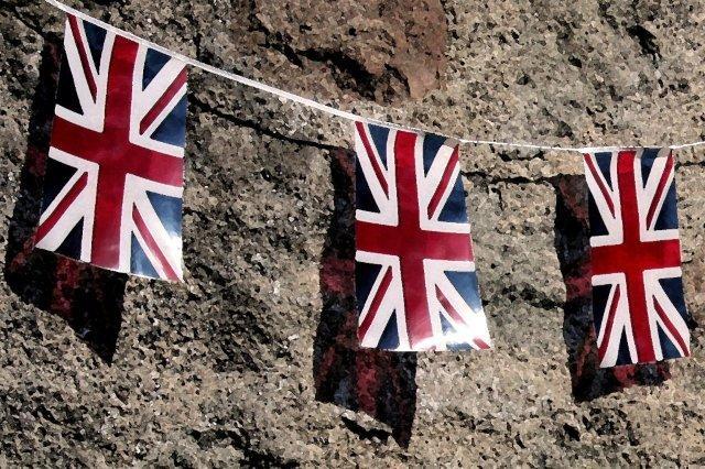 Banderas Reino Unido Union Jacks