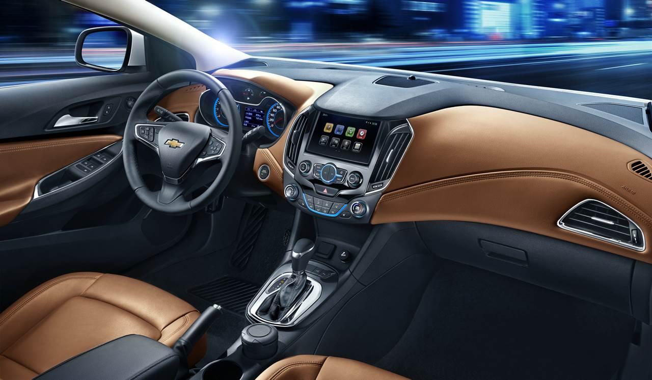 Novo Chevrolet Cruze 2016 - interior - painel