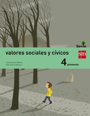 LIBROS DE TEXTO Valores sociales y cívicos . 4 - Cuarto Primaria : Savia 2015 (Ediciones SM) | MATERIAL ESCOLAR | Comprar en Amazon