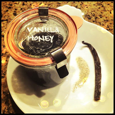 vanilla infused honey