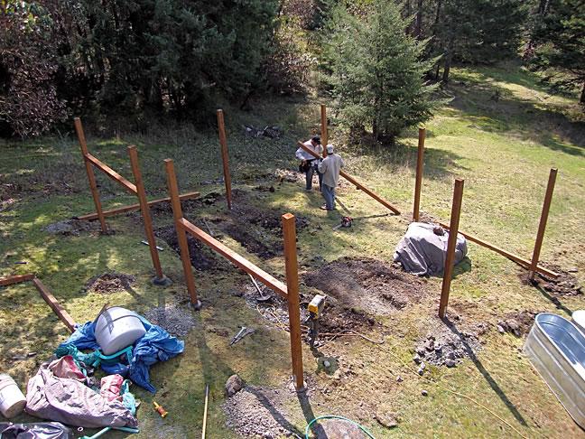 Deer Proof Garden Fence, San Juan Island