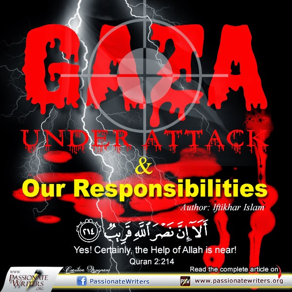 Passioante Writers - Iftikhar Islam - Gaza Under Attack