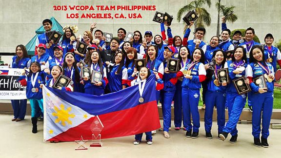 Team Philippines at 17th WCOPA