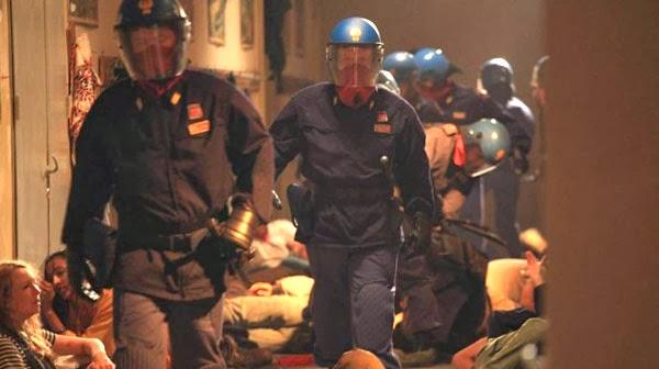 Escena de la película Diaz, no limpies la sangre