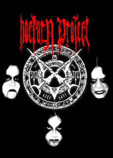 Nocturn Project Band Majestic Dark Metal / Black Metal Yogyakarta Photo Wallpaper Artwork