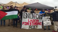 Labor Union Workers Arrive to Support Standing Rock Camp!