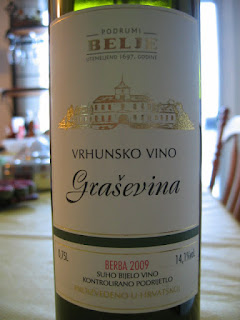 Bottle photo of 2009 Belje Grasevina 2009, Croatia