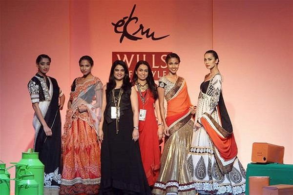 Ekru by Ekta & Ruchira Collection at Wills Lifestyle India Fashion Week 2013