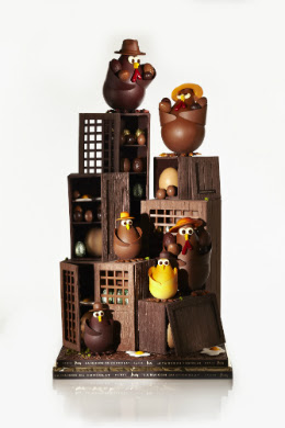 Easter chocolate La Maison du Chocolat, Paris