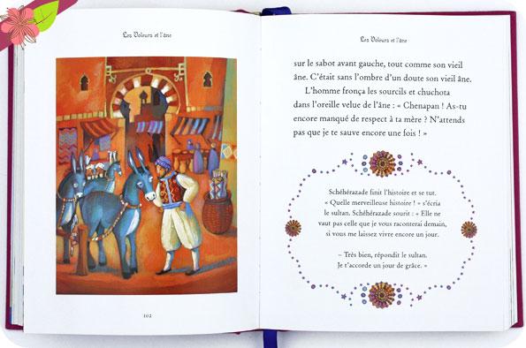 Les mille et une nuits illustrées (édition toilée) - Usborne