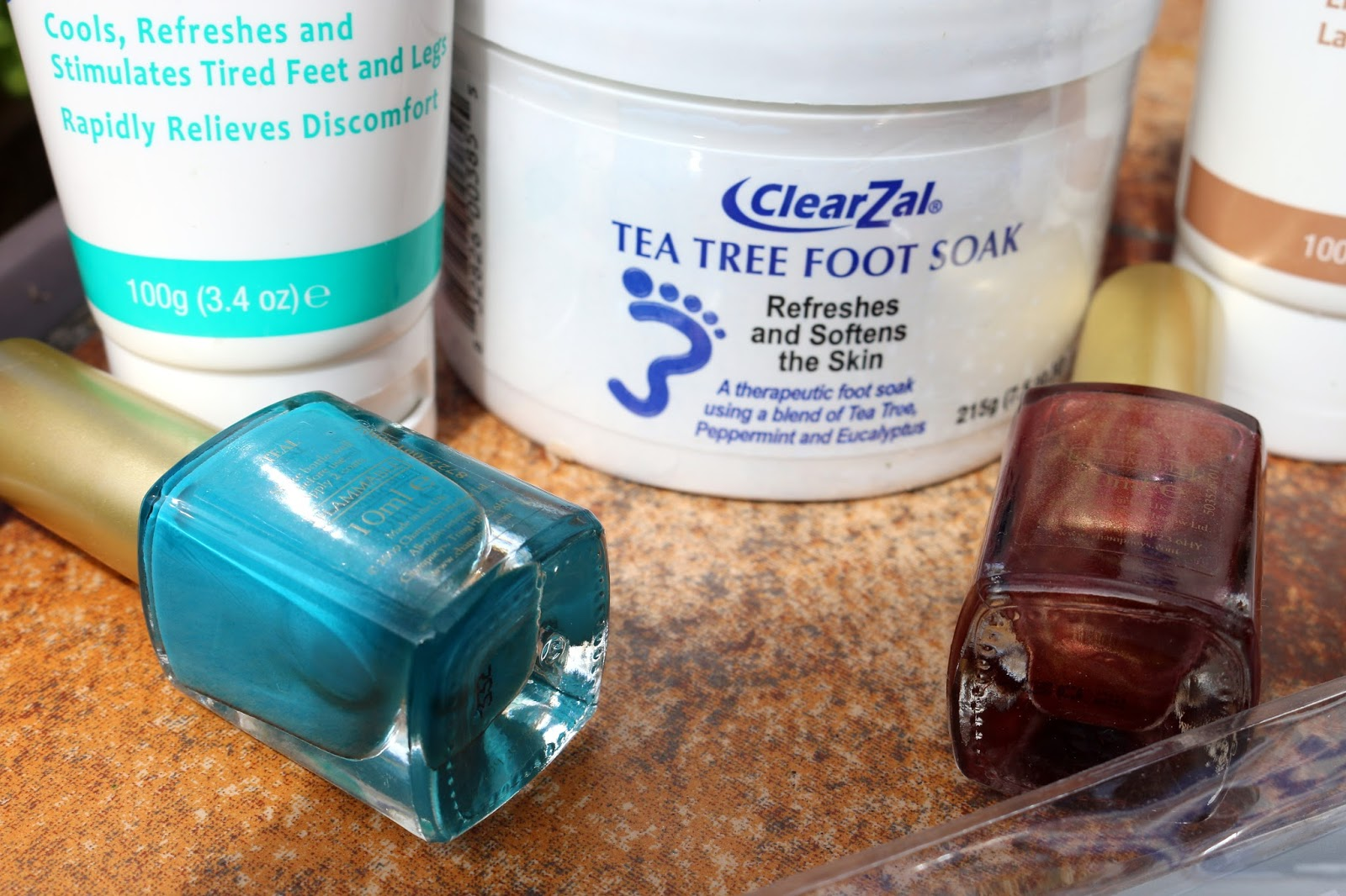 Pampering my Feet with ClearZal!