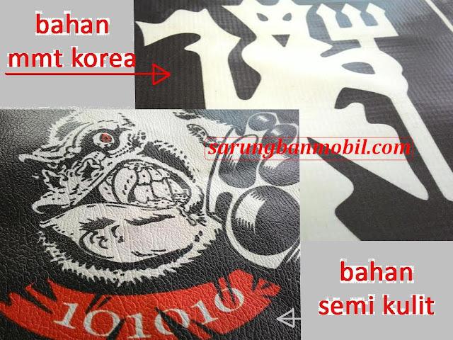 bahan material pembuatan cover ban mobil