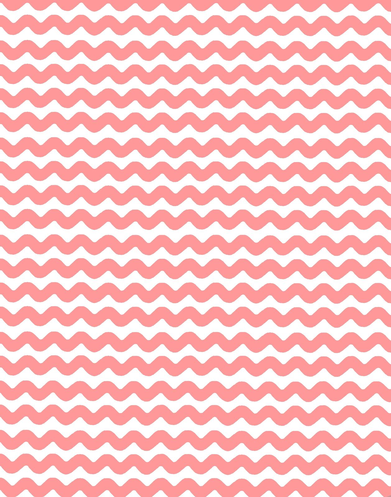 Pink Chevron Pattern B...