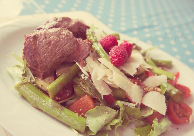 mood vintage retro summer healthy salad low carb