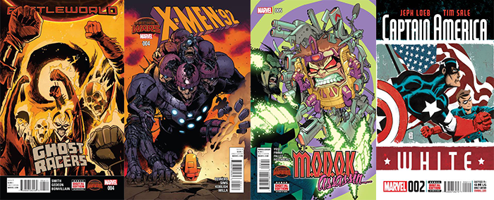 marvel comics 9/30/15