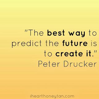 Motivational quote Peter Drucker