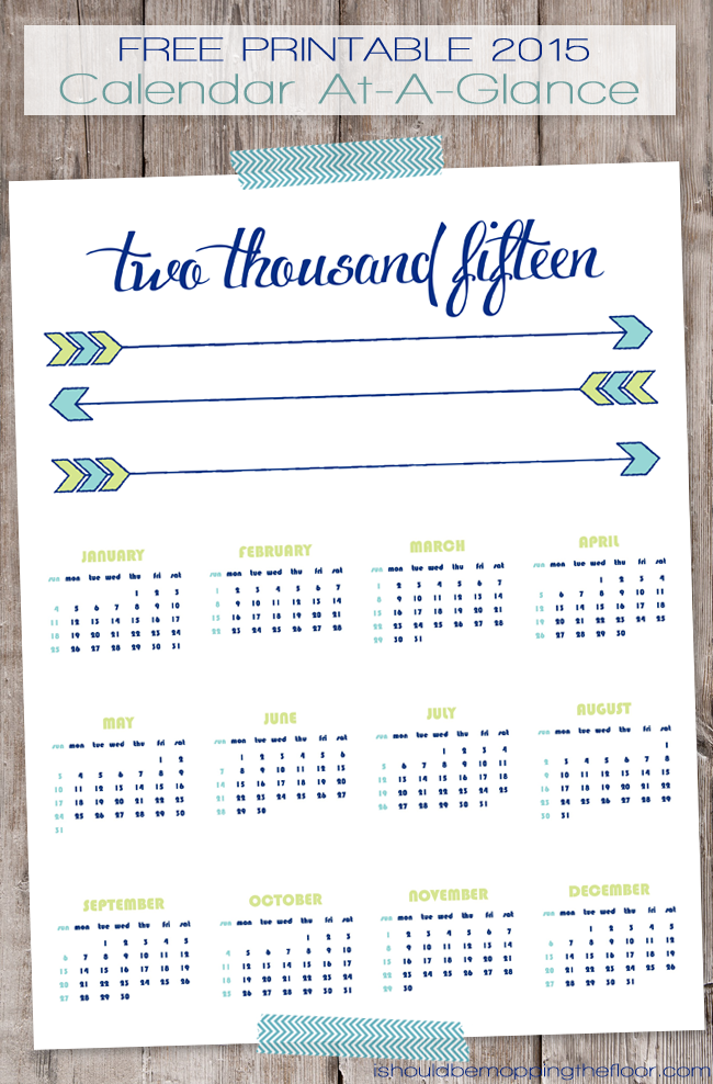 "... Free Printable 2015 5 12 By 8 12 Daily Calander"" – Calendar 2015"