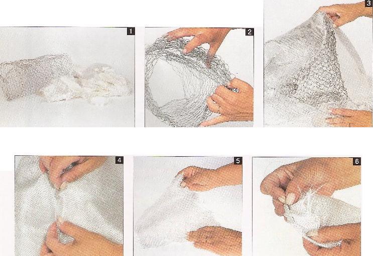 Como se hace una roca artificial para Bonsai?