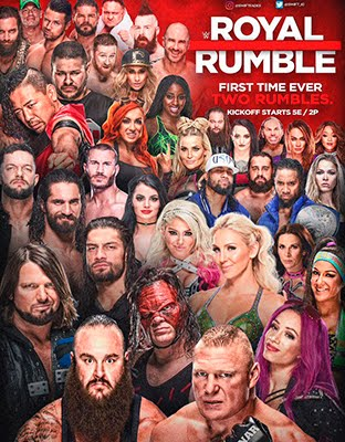 Ver WWE Royal Rumble 2018 Gratis En Vivo