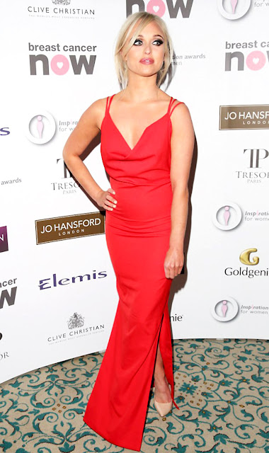 Actress, Model, @ Jorgie Porter - The Inspiration Awards for Women at the Landmark Hotel in London