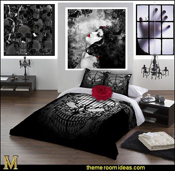 Bedroom Wall Decor Romantic Bedroom Boudoir Chairs Victorian Bedroom Chairs Bedroom Colors Dark: Maries Manor: Gothic Bedroom