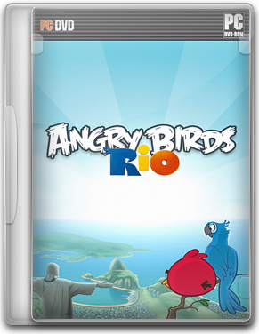 Capa Angry Birds Rio   PC (Completo) 2011 + Serial