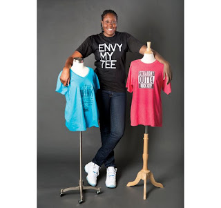 Jessica Davenport Owner of Envy My Tee