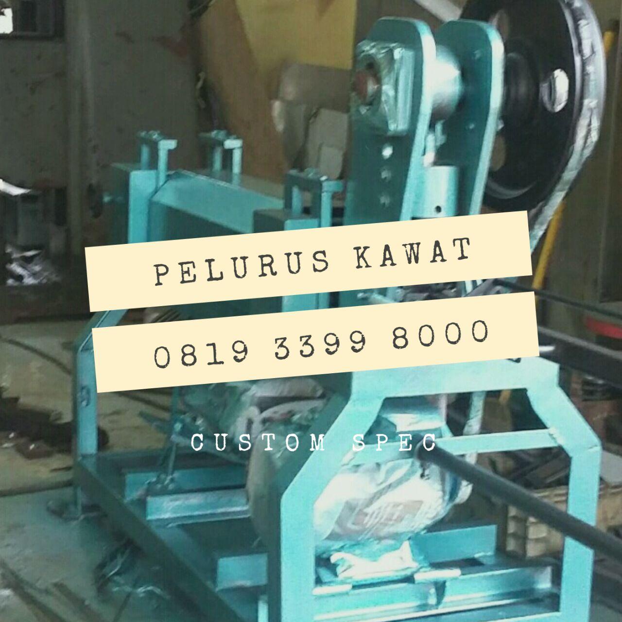 Mesin Pelurus Kawat