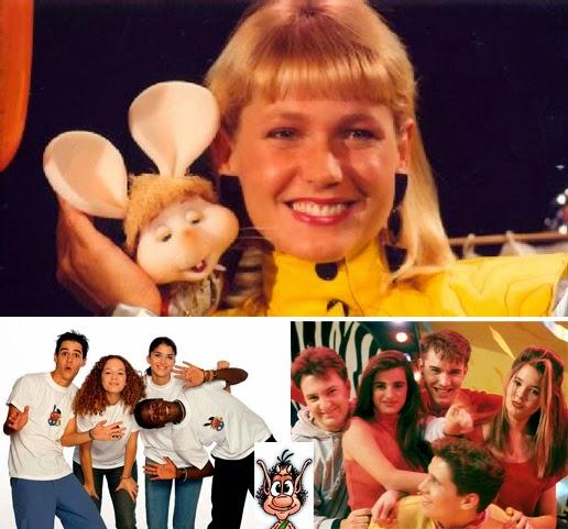 Xuxa, Club Disney, La quinta marcha, Jesús Vázquez, Penélope Cruz, Jimmy Castro, Elena Jiménez, David Carrillo, Vanessa Martyn, Jordi Cruz