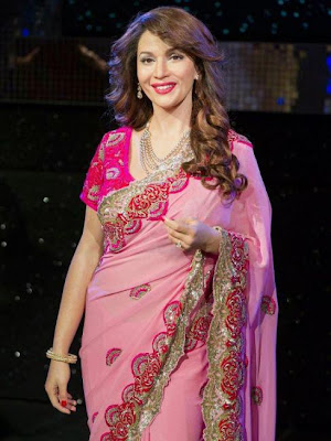 madhuri dixit wax statue at madame tussauds photo gallery