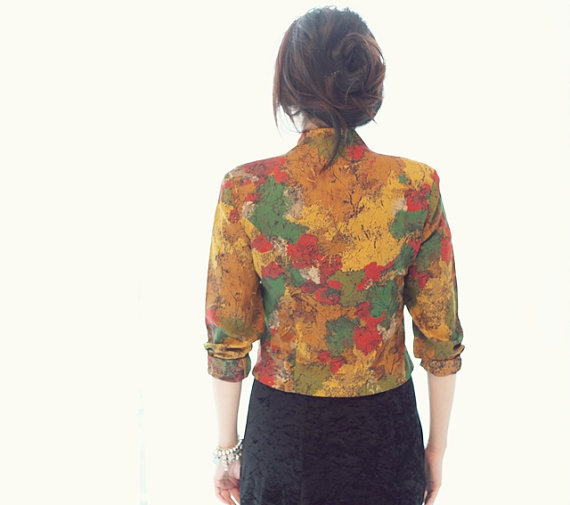 paint a dress blazer, vintage blazer, statement blazer, iulia agnew photography