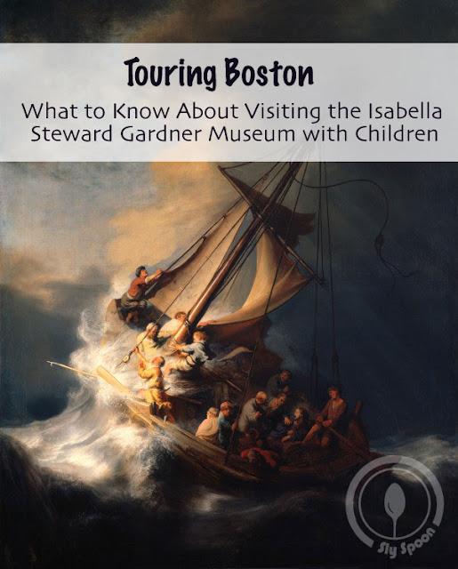 Isabella Steward Gardner Museum with Children