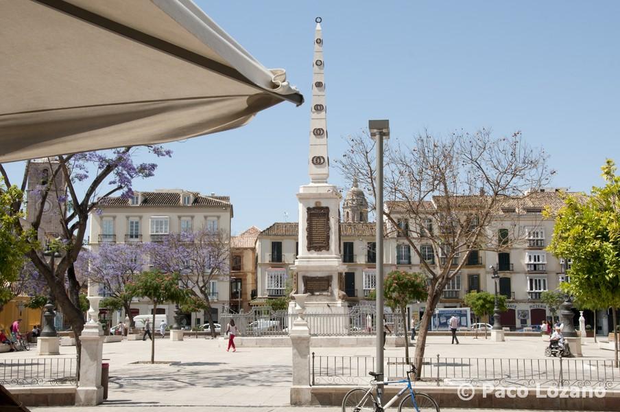 Plaza de la Merced en Malaga