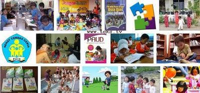 photo gambar pendidikan anak usia dini PAUD dan taman kanak-kanak
