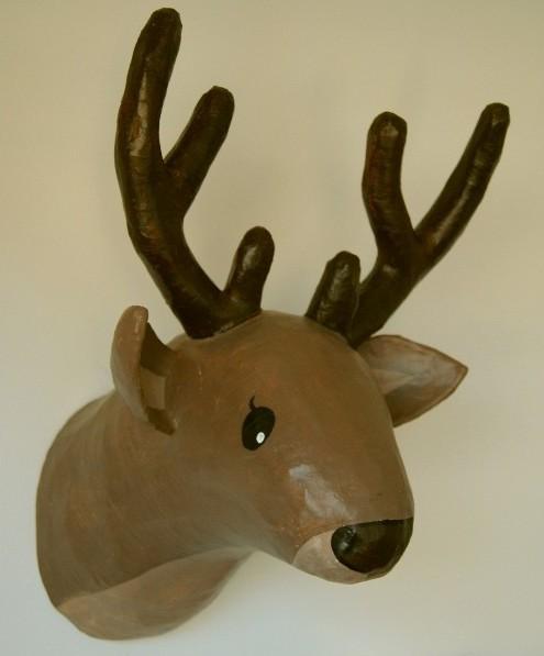Barquitec ciervos alces renos y cuernos for Cabeza de ciervo