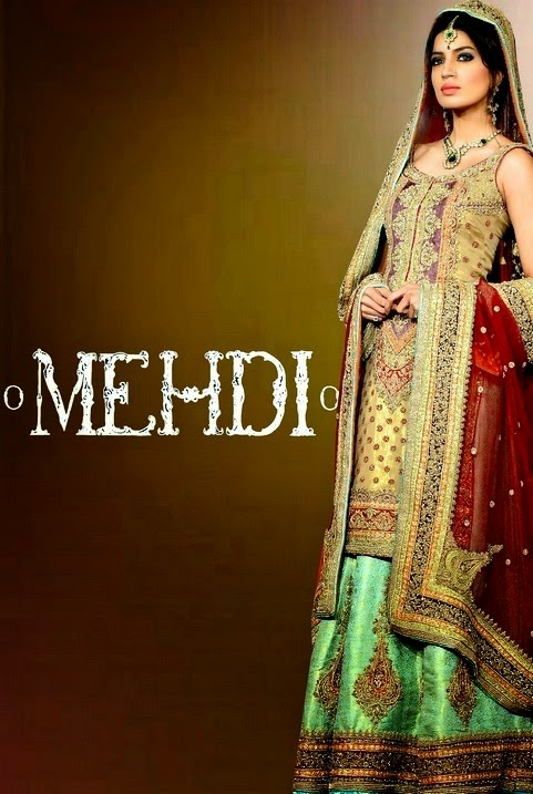 Pakistani Bridal Dresses 2014-2015