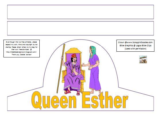 http://www.biblefunforkids.com/2014/08/preschool-alphabet-q-is-for-queen-esther.html