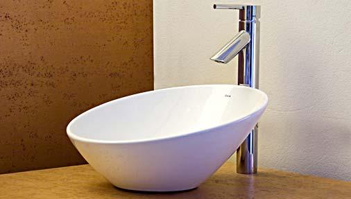 Construindo Minha Casa Clean Cubas e Torneiras de Banheiros!!! Qual escolher? -> Cuba Para Banheiro Redonda
