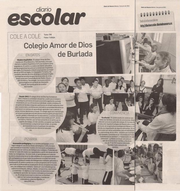 Colegio amor de dios burlada el colegio en el diario - Colegio amor de dios oviedo ...