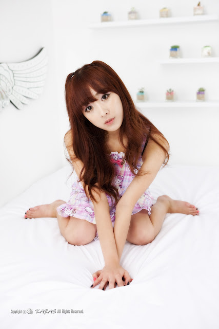 4 Minah and Hello Kitty-Very cute asian girl - girlcute4u.blogspot.com