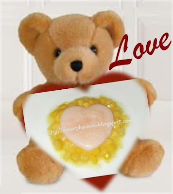 pretty bear valentines day dessert recipe