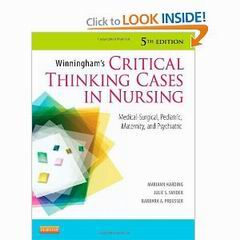 critical thinking rubric nursing