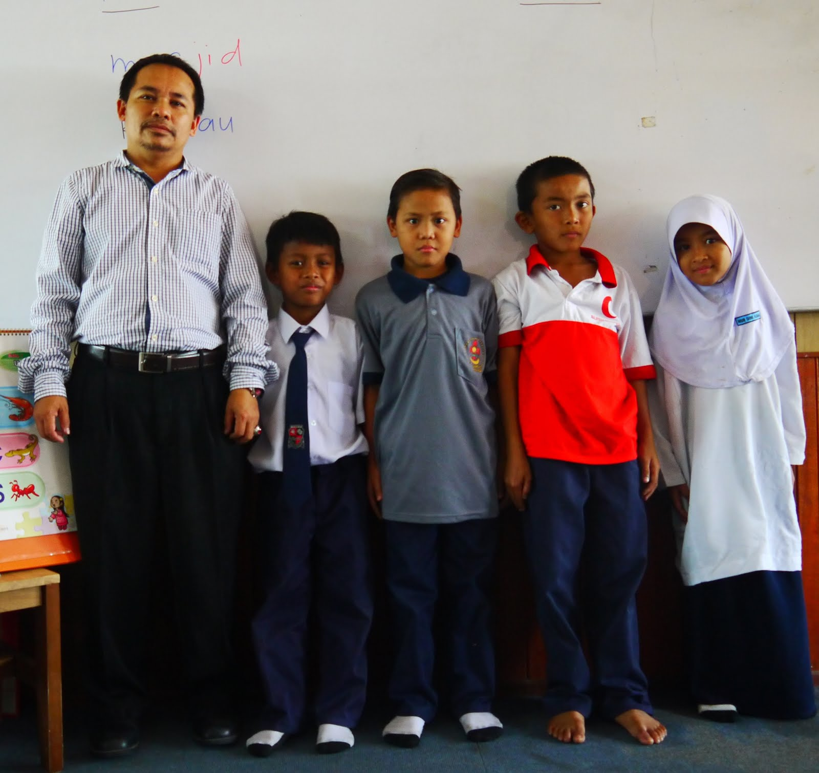 AKU DAN MURID PEMULIHAN LINUS 2014