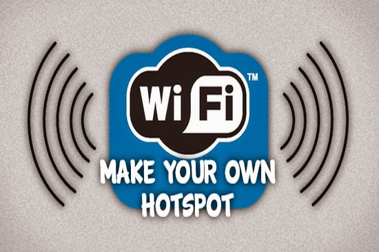 How To Create Portable Wifi Hotspot in Windows 8 Using CMD