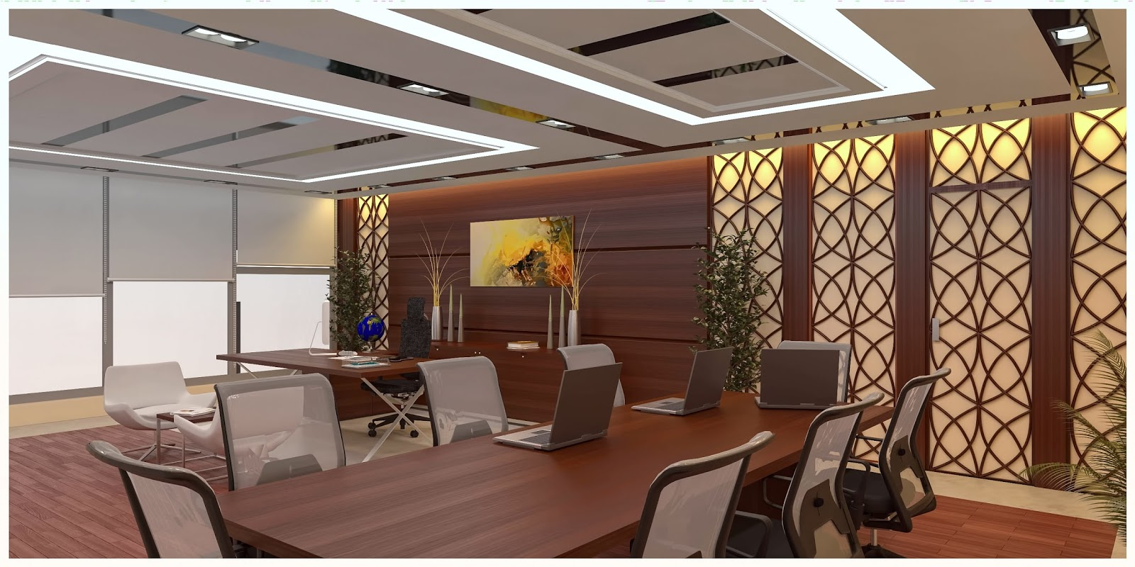 3d visual designs for Office design 3d max