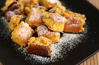 császármorzsa sütőtök rooibos tea liszt tej tojás vanília rum aszalt vörös áfonya vörösáfonya fahéj szerecsendió narancs grépfrút grapefruit