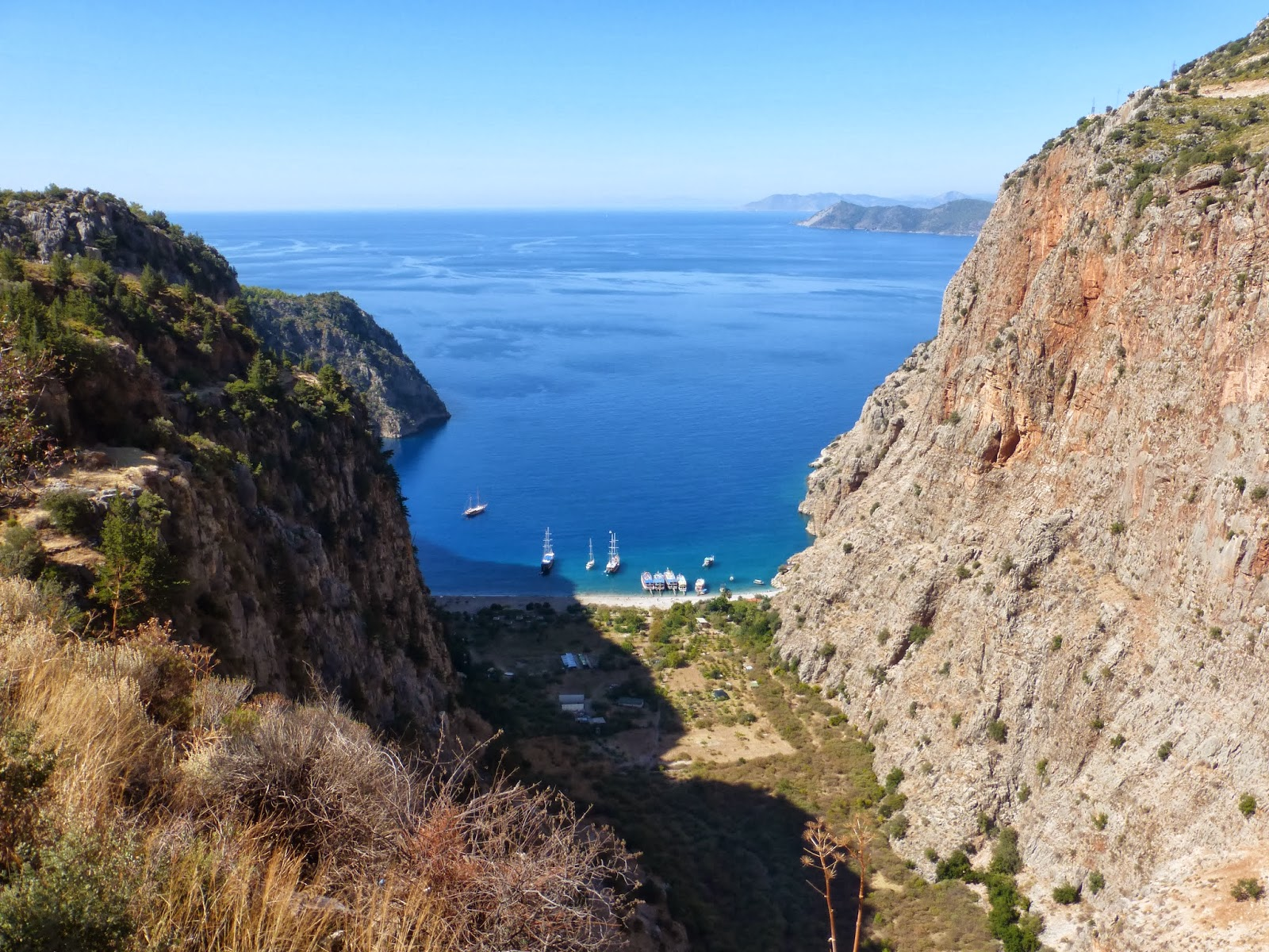 Justus In The World: Butterfly Valley Hike