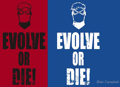 "Animal Man ""Evolve or Die!"" DC Comics Tribute T-Shirt by Blair Campbell"