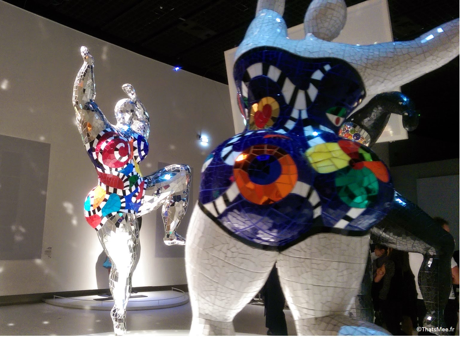 expo retrospective Niki de Saint-Phalle Grand Palais Paris art contemporain nanas sculpture féminisme racisme